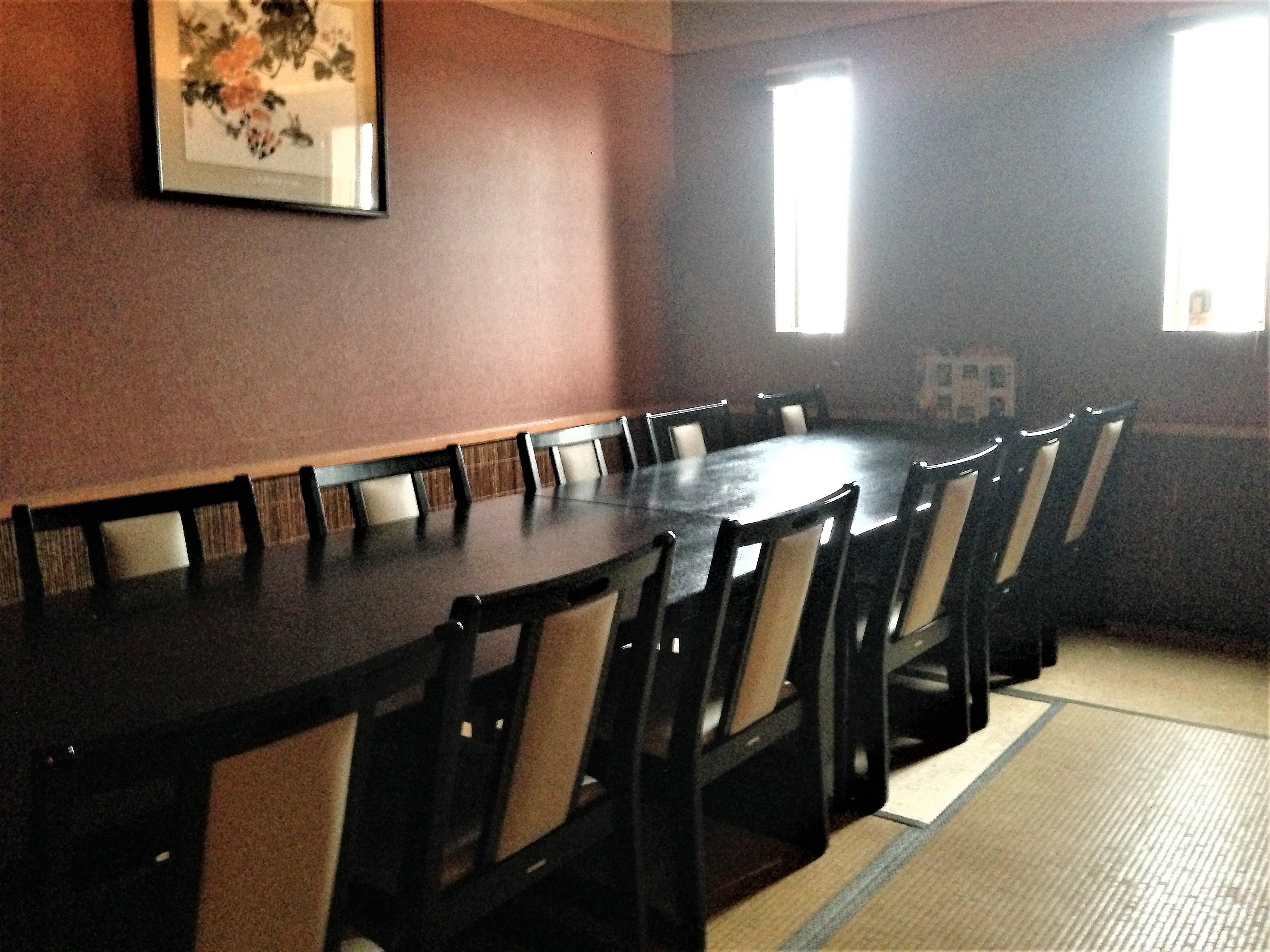 テーブル座敷