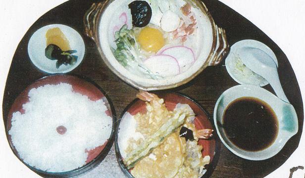 なべ焼き定食
