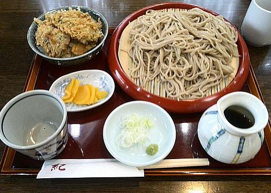 野菜ミニ天丼のセット